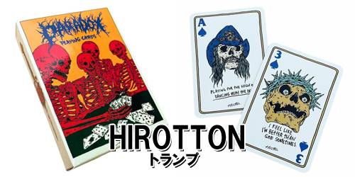 Cards トランプ [HIROTTON]入荷!!