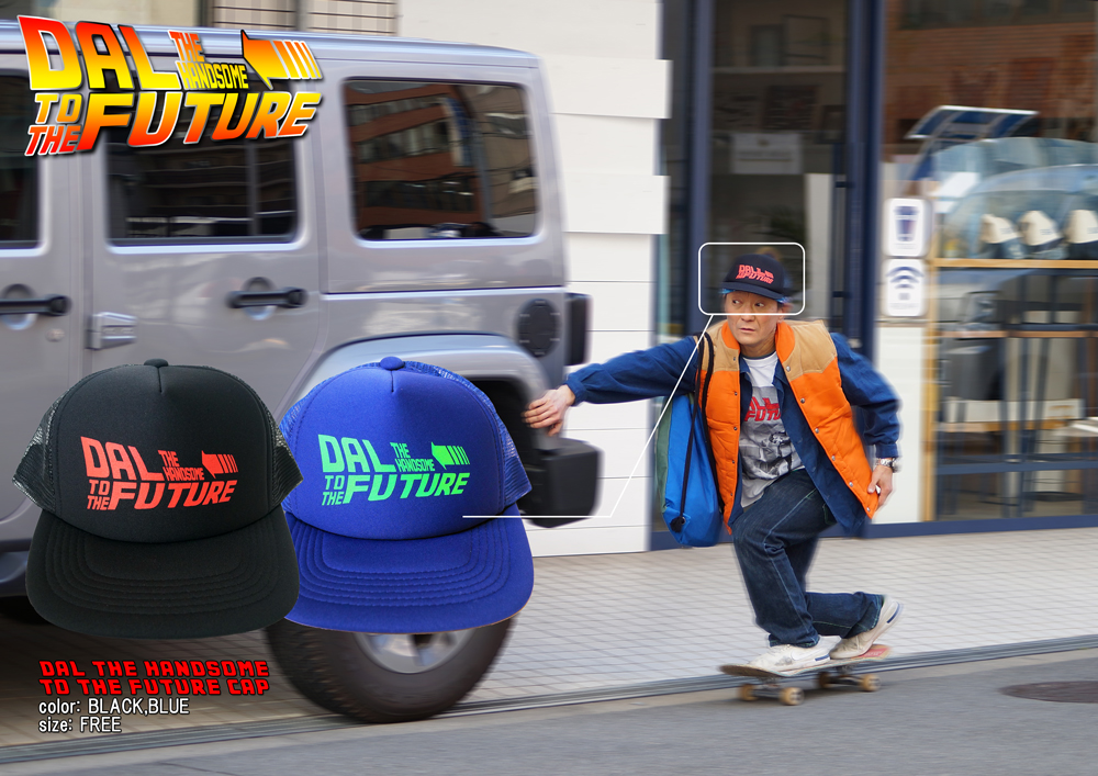 [DAL THE HANDSOME]のキャップ、DAL THE HANDSOME TO THE FUTURE CAP