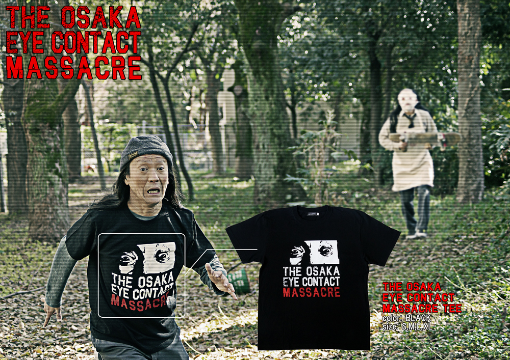 [DAL THE HANDSOME]のショートスリーブTシャツ、THE EYE CONTACT MASSACRE TEE