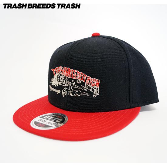 Trash君 CAP[TRASH BREEDS TRASH]