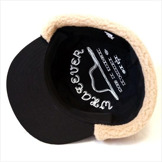 耳当付き帽子-WHATEVER